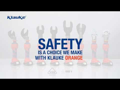 Klauke ORANGE - Safety Is A Choice We Make.