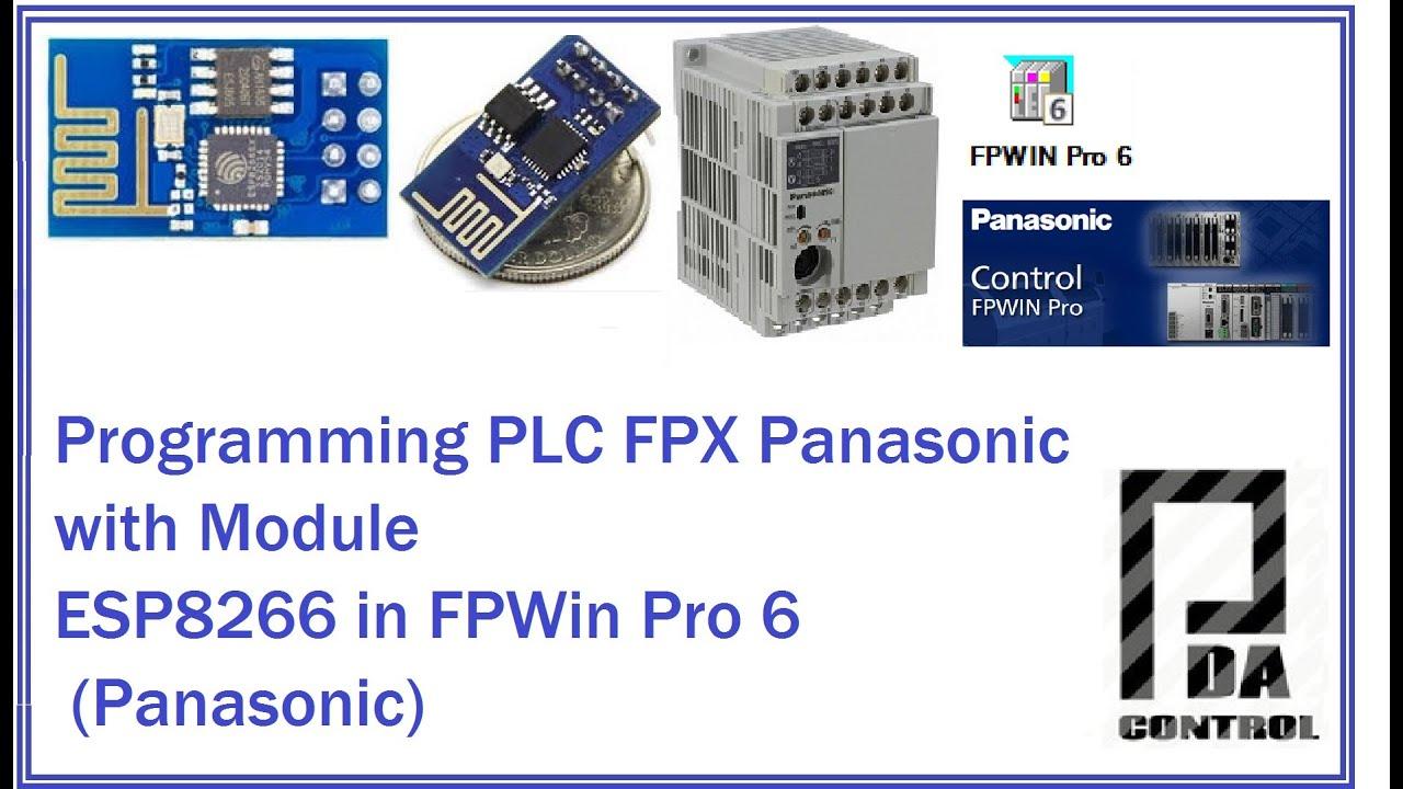 My PLC Panasonic FPX C14 R and Arduino: 7 Steps