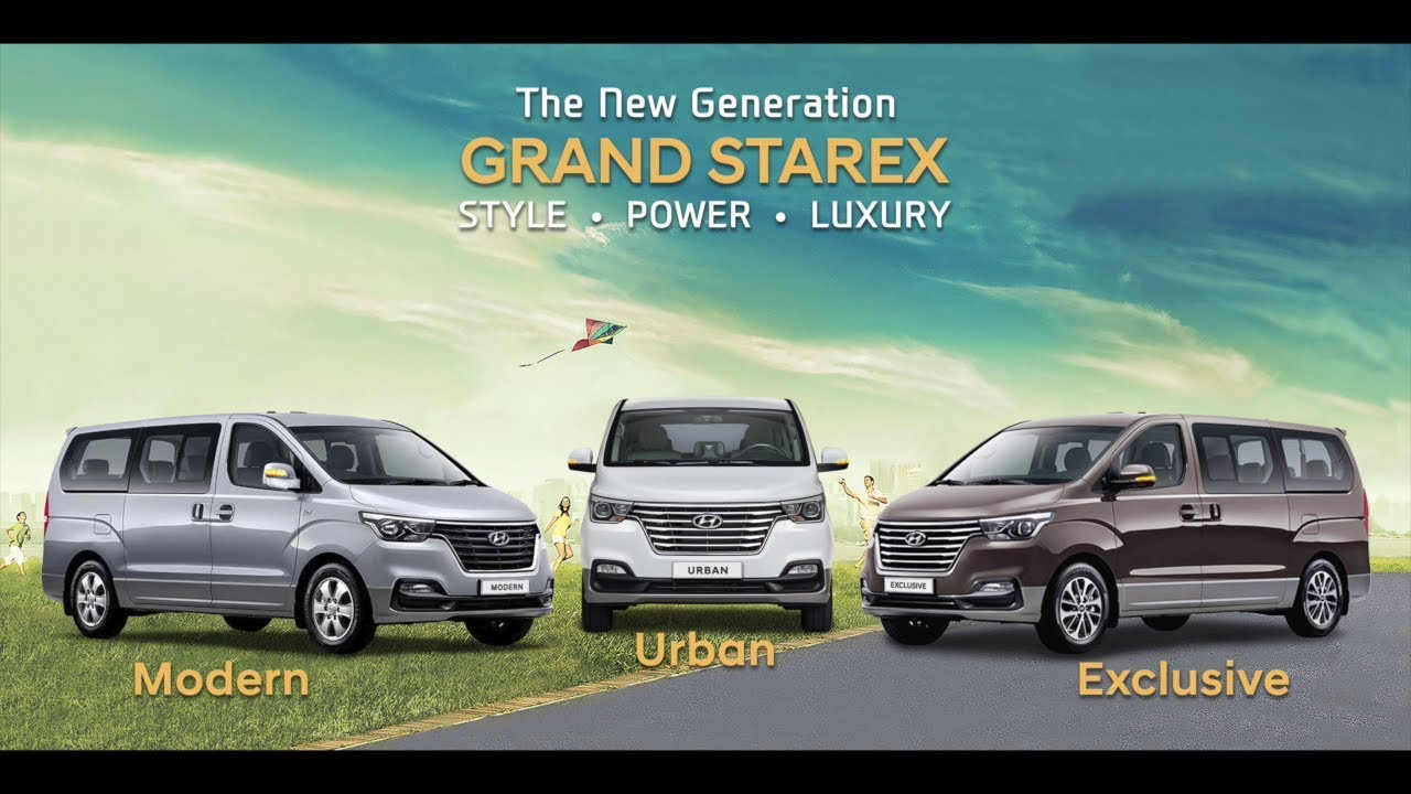 The Best Grand Starex In The Philippines Are From Hancars