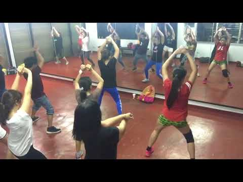 Havana zumba dance fitness w/ Jenel Kim Cobrado at Enrico's Gym