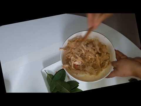 Cách làm món tré miền trung tại nhà!
