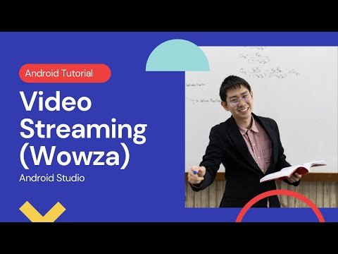 Real Time Video Streaming in Android using LibStreaming API & Wowza Media Server Android Studio
