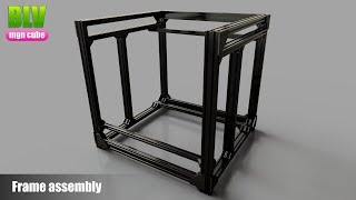 BLV mgn Cube - Frame assembly