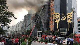 الفيتنام: مقتل 13 شخصا في حريق بهانوي - world