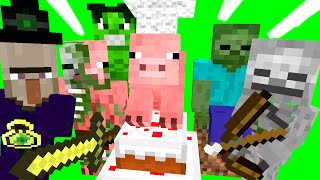 Top 10 Monster School Minecraft Animations 2014 | MinecraftProduced