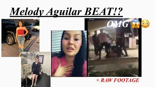 Melody Aguilar from the Aguilars fight video ( +raw footage no blur )