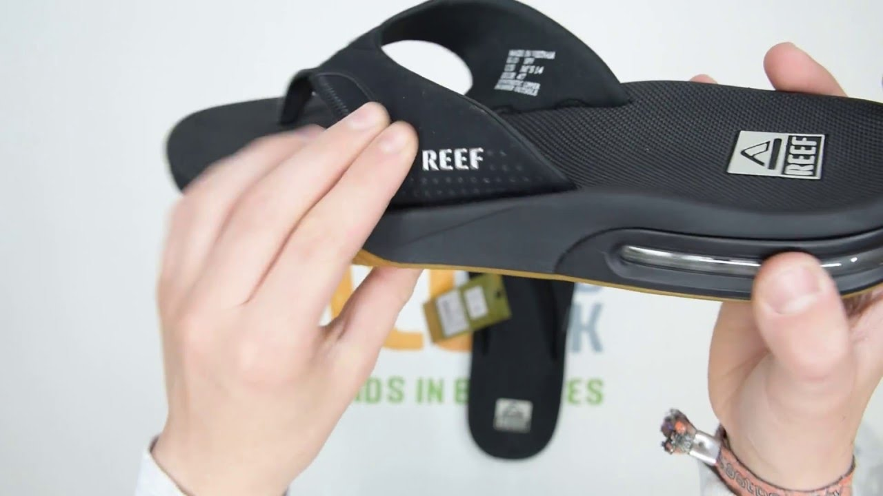 top fashion exquisite design shoes for cheap Reef Fanning - Black - Walktall | Unboxing | Hands on - YouTube