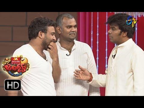 Sudigaali Sudheer Performance | Extra Jabardsth | 21st April  2017 | ETV Telugu