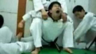 跆拳道变态魔鬼训练