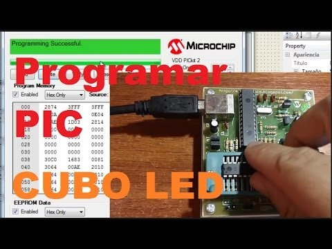 Cubo LED, Programar Con FLOWCODE Y PICkit2 (Como Se Hace)