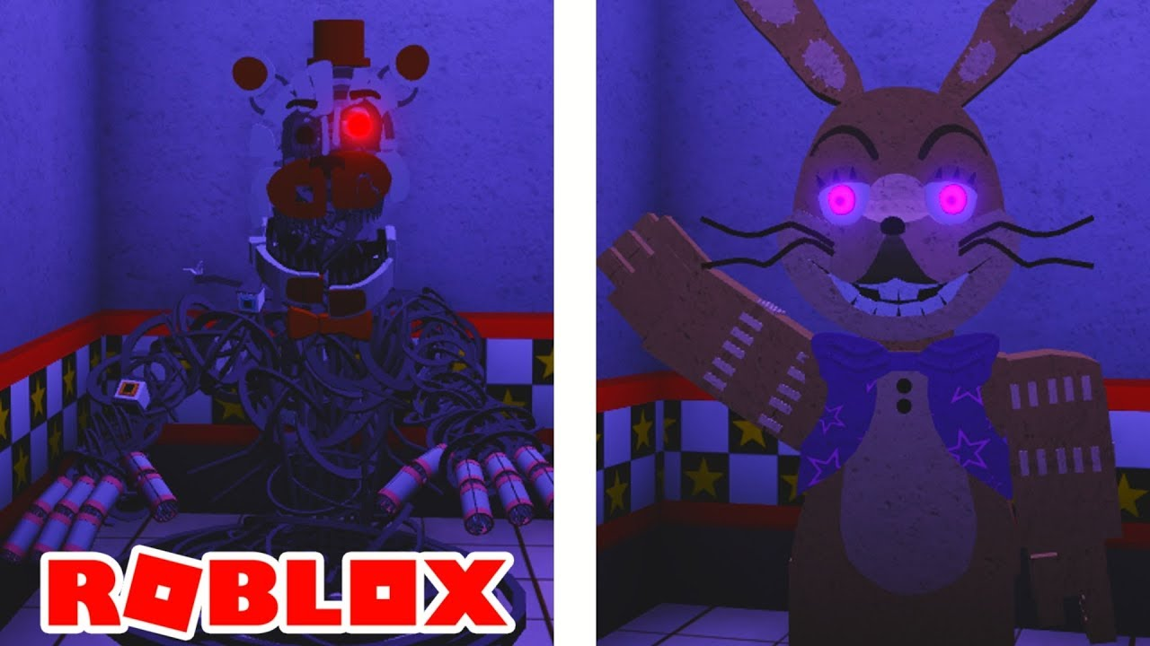 Roblox Custom Night Rp How To Get Blacklights Event Mangled Glitchtrap And Survivor Badges In Roblox Fredbears Custom Night Youtube