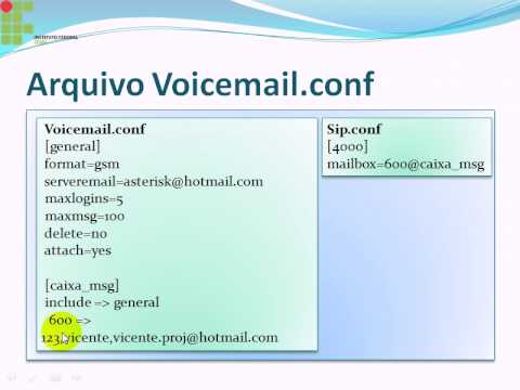 asterisk - parte 7 - Voicemail