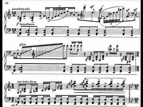 S. Prokofiev : Concerto for piano no. 2 op. 16 in G minor - 1st mov. (Vinnitskaya)