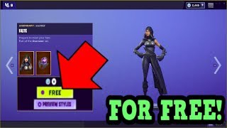 HOW TO GET FATE SKIN FOR FREE! (Fortnite Old Skins)