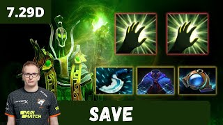 Save Rubick Soft Support Gameplay Patch 7.29d - Dota 2 Full Match Gameplay