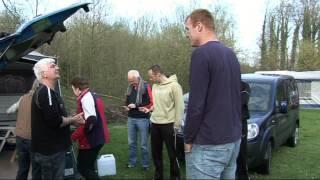 Op de camping Geul en Bos  Meerssen Zuid-Limburg  RvR volgen via iPod
