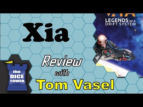 Xia Review - with Tom Vasel