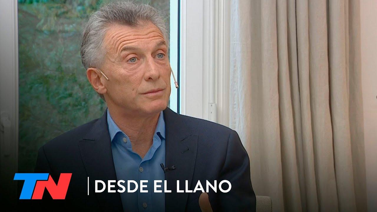 """Mauricio Macri en DESDE EL LLANO: """"Cristina Kirchner es quien conduce el Gobierno"""""""