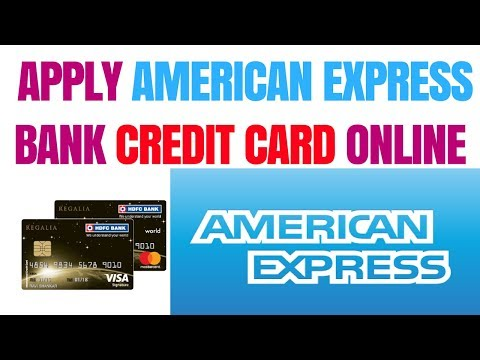 How To Apply American Express Credit Card | Apply American Express Bank Credit Card