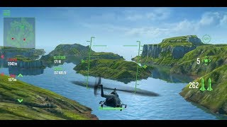 Modern War Choppers (by GDCompany) - action game for android - gameplay.