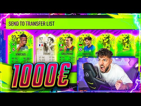 EXPERIMENT: 1.000€ in PATH TO GLORY Packs das bekommst du.. 🔥🔥 FIFA 21: Lightning Rounds!!