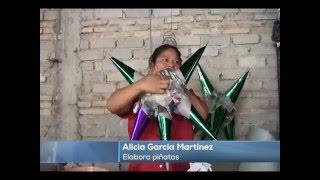 Elaboración de piñatas en Altepexi
