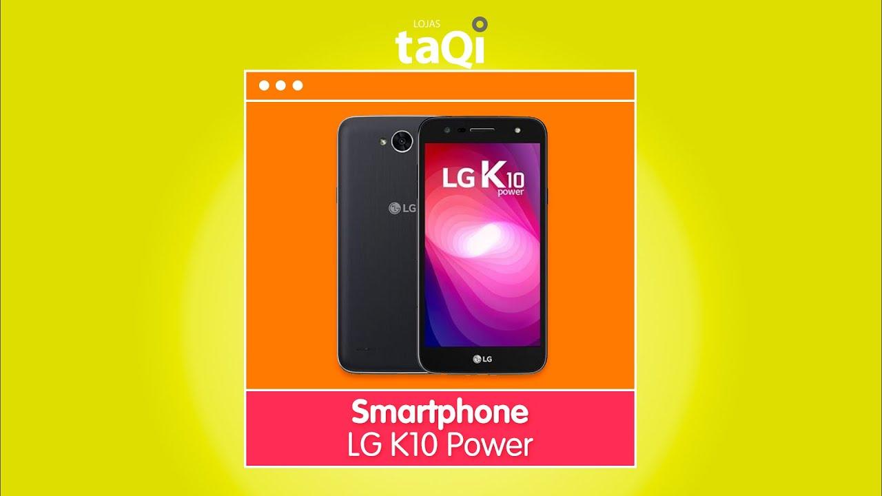 Smartphone LG K10 Power - YouTube dcede21913