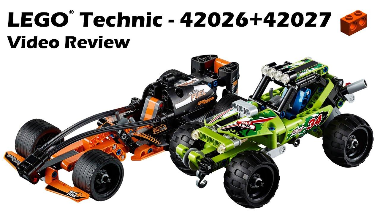 LEGO Technic 42026 + 42027, Black Champion and Desert ...