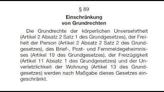 Grundrechtseinschränkungen ab dem 25. Mai 2018?