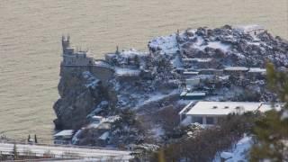 Стройгородок. Снег 2017. Панорамы и пейзажи. (Ялта, Гаспра)(, 2017-01-29T23:16:45.000Z)