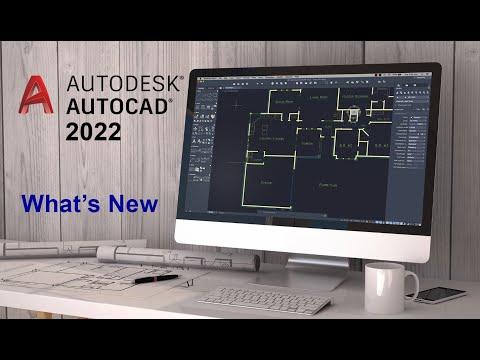 AutoCAD 2022 - Những tính năng mới nổi bật