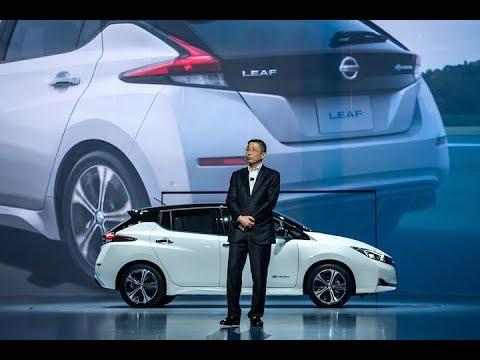 New Nissan LEAF: CEO Hiroto Saikawa introduces the next generation EV