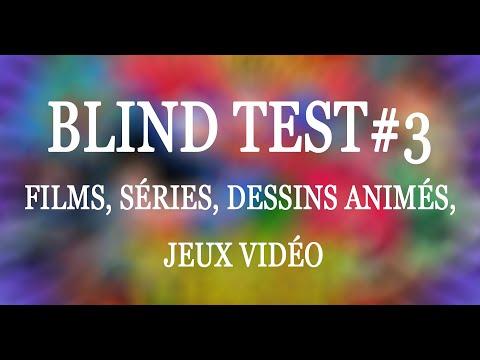 #3 Blind Test 200 EXTRAITS Séries, Films, Dessins animés, Jeux Vidéo