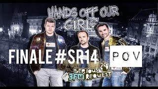 Finale 3FM Serious Request 2014 POV Coen, Domien, Gerard.