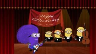 Happy Birthday Song Crazy Funny War Edition, С Днем Рождения Миньоны HD