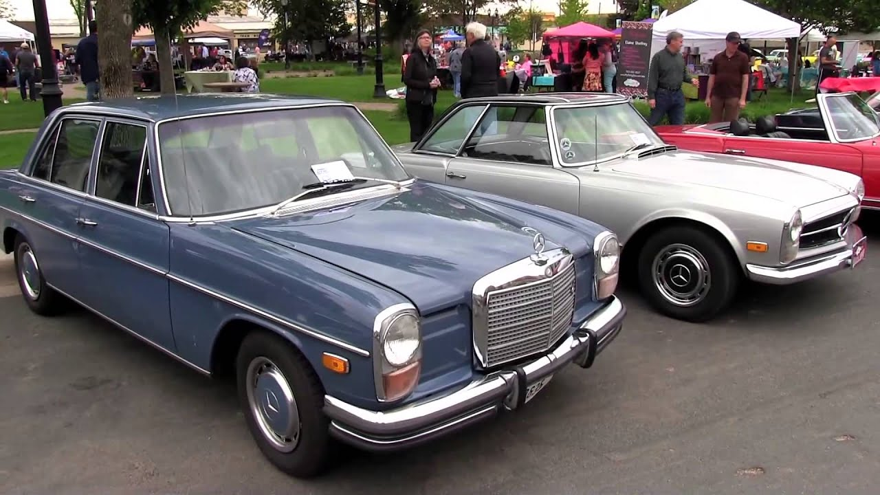 1972 mercedes benz 250 sedan one family owned since new for Mercedes benz 1972