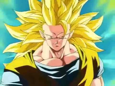Goku Super Saiyajin 3 vs Majin Boo audio latino