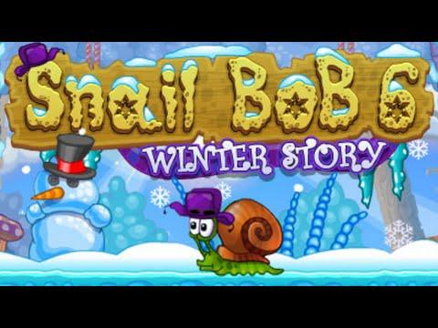 Snail Bob 6: Winter Story Full Gameplay Walkthrough