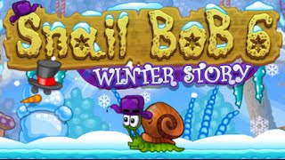 Snail Bob 6: Winter Story Full Gameplay Walkthrough