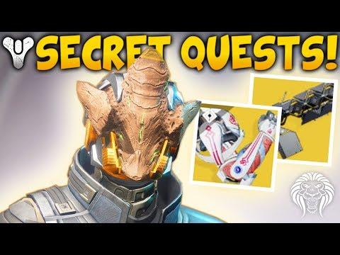Destiny 2: NEW QUEST EXOTICS & SECRET VAULT! Nokris Hive Boss, PSN Exclusives & Sleeper Simulant