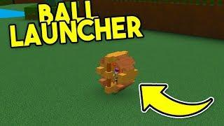 EPIC Ball Launcher! | Build A Boat For Treasure ROBLOX