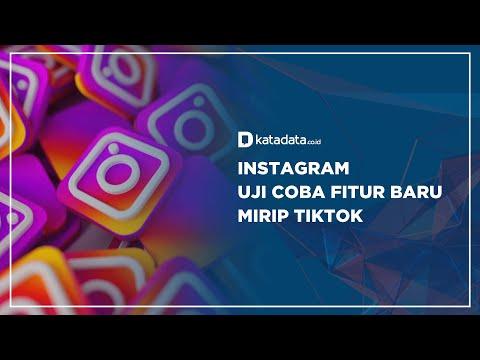 Instagram Uji Coba Fitur Baru Mirip TikTok | Katadata Indonesia