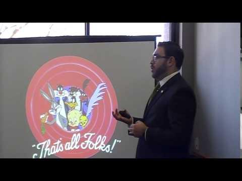 David Speiser Masters Degree Presentation