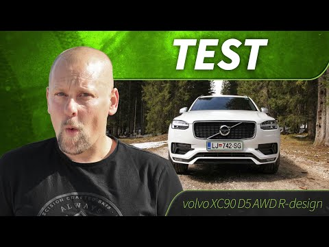 2016 volvo xc90 d5 awd r design test youtube. Black Bedroom Furniture Sets. Home Design Ideas