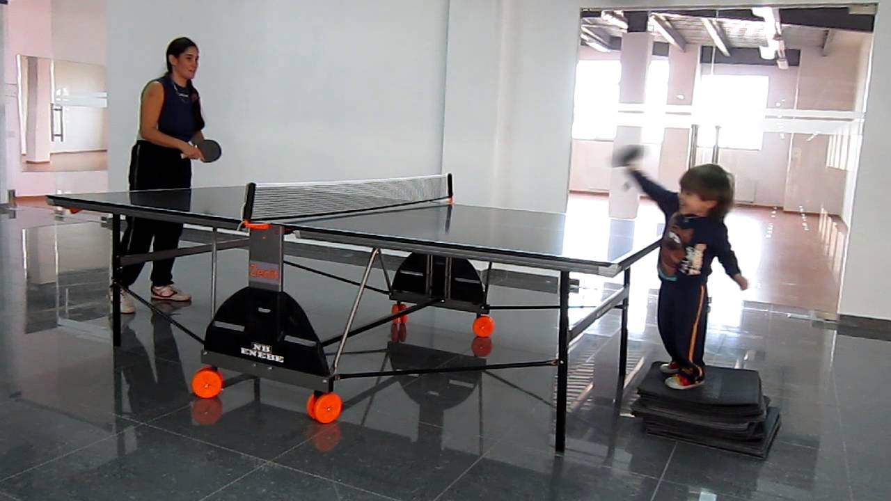 Charmant How To Teach You Kids From 2 Years Old Play Table Tennis
