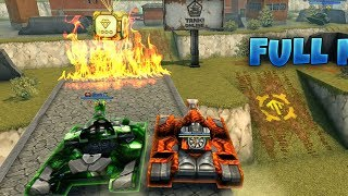 Tanki Online | Freeze M4 Viking M4 | Tanki in Moscow Paint | Gameplay