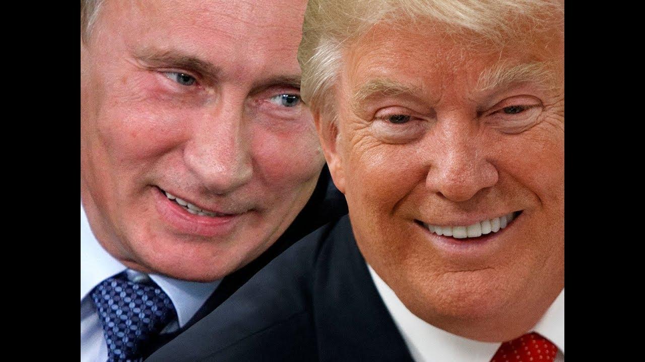 Видение: Трамп, Путин, красное знамя
