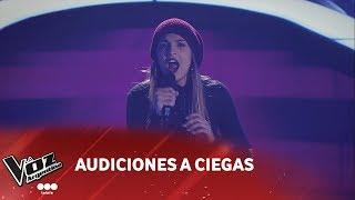 camila canziani    listen    beyonce   audiciones a ciegas   la voz argentina 2018