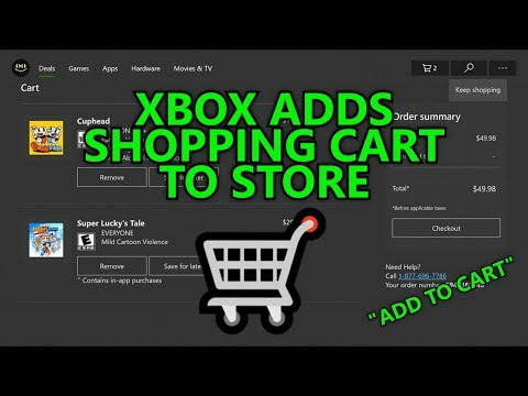 "Xbox Adds Shopping Cart to Store - ""Add to Cart"" Feature - Xbox Insider"