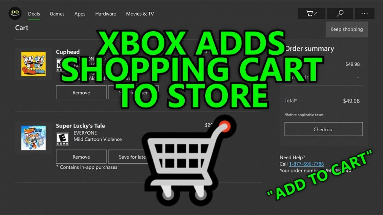 813e3e9fd8c6b Xbox Adds Shopping Cart to Store - Wishlist (Save for Later) & Add to Cart  Feature - Xbox Insider